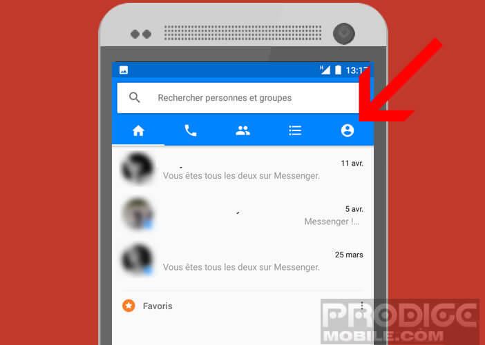 Modifier les paramètres de votre messagerie instantanée