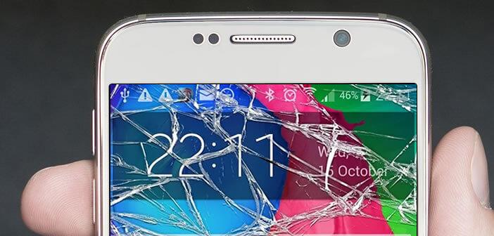 Simuler Un Faux Ecran Casse Sur Un Mobile Android