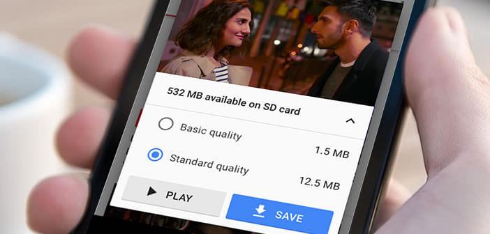 Télécharger les vidéos YouTube sur son smartphone Android