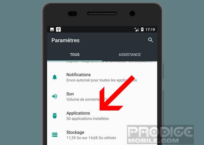 Applications provoquant des erreurs et bugs sur Android