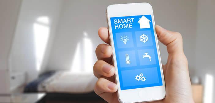 Commander un accessoire connecté HomeKit depuis un iPhone