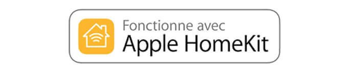 Logo HomeKit présent sur les boites des produits connectés compatible Apple