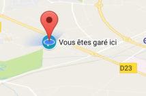 Maps vous aide à retrouver la place de parking de votre voiture