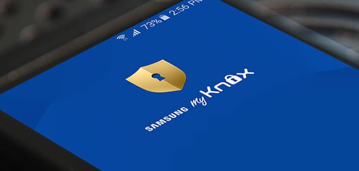 Apprenez à configurer et à utiliser My Knox