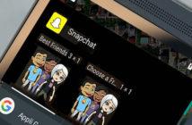 Envoyer un message sur Snapchat depuis le bureau d'Android