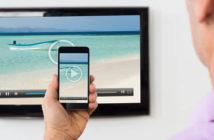 Faire du streaming vidéo depuis un iPhone vers une télé