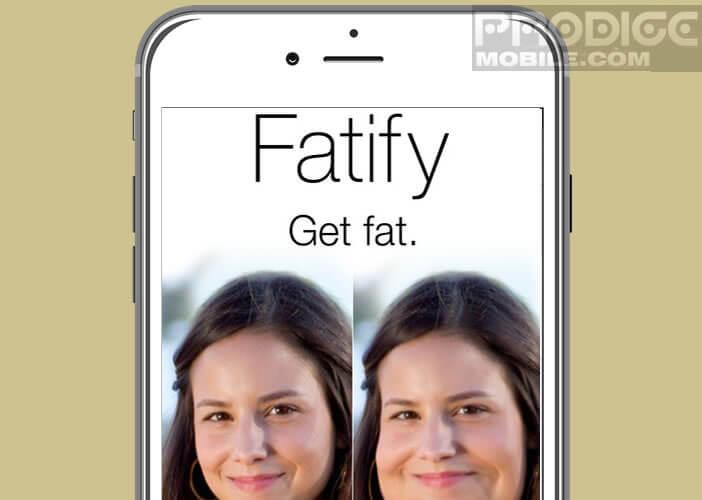 Application photo qui va grossir votre visage ou celui de vos amis