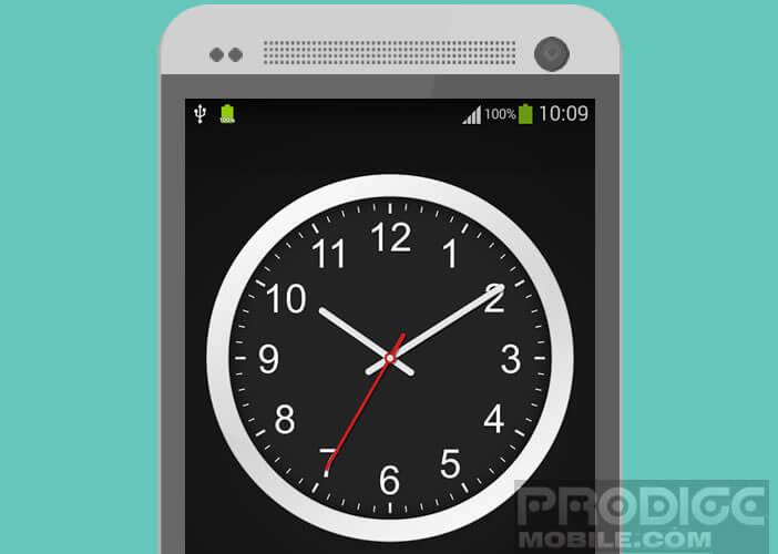 L'application Clock pour remplacer votre montre