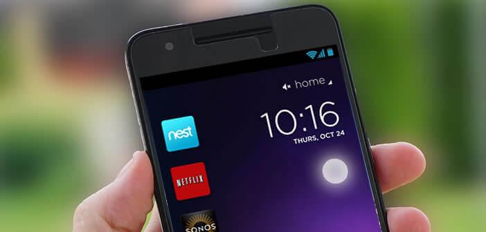 L'appli Cover Lock Screen permet d'ajouter des raccourcis à l'écran de verrouillage