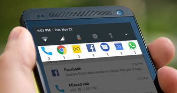 Filtrer l'affichage des notifications en fonction des applications