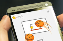 Ketchapp Basketball, jeu d'adresse sur Android