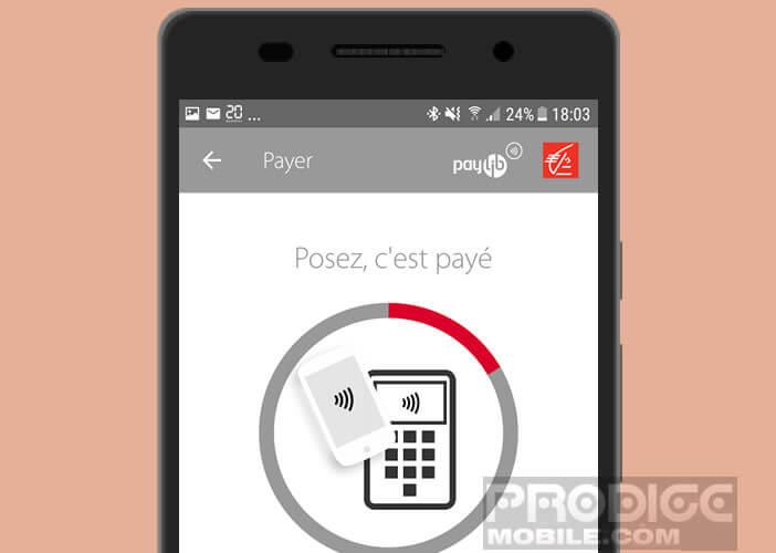 Payer tous vos achats avec votre téléphone Android