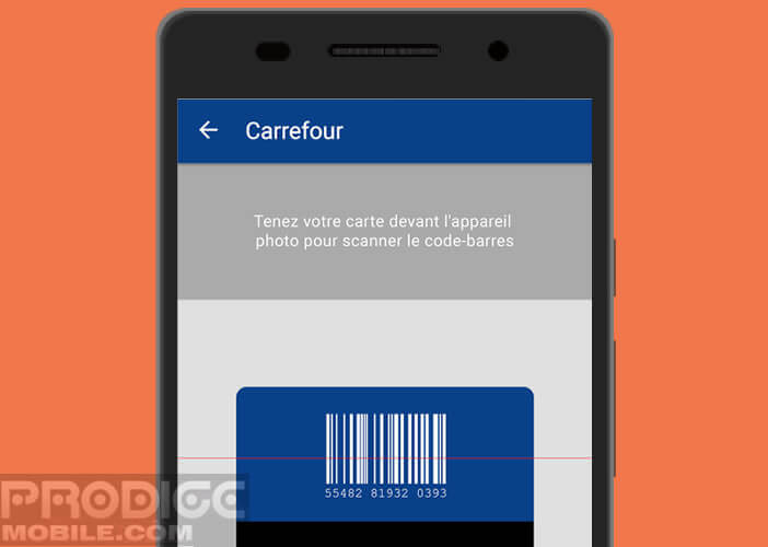 Scanner Le Code Barre De Votre Carte Via Lappareil Photo