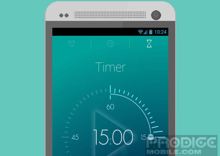 L'application Timely remplace avantageusement montre et réveil