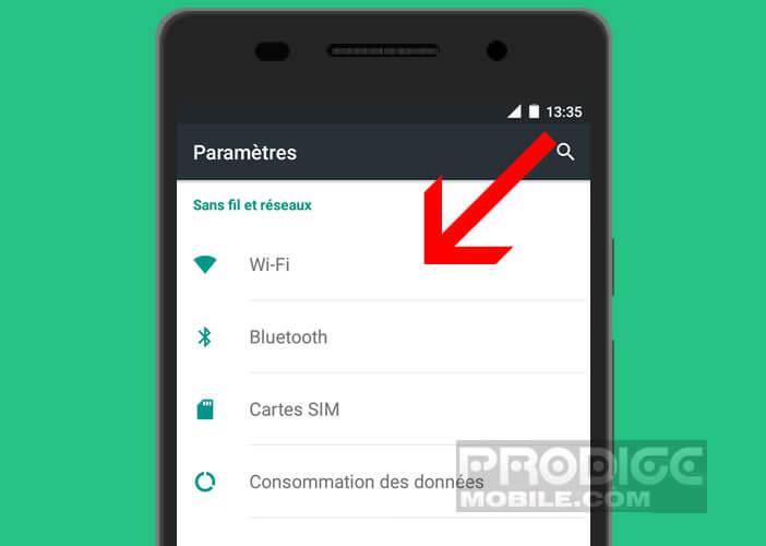 Corriger les problèmes de batterie lié au Wi-Fi sous Marshmallow