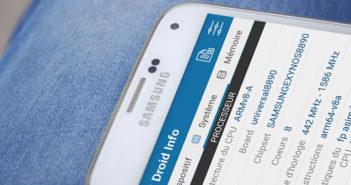 Afficher les caractéristiques techniques du processeur de votre smartphone Android