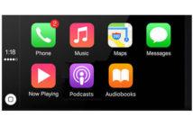 Réorganiser les icônes d'applications sur CarPlay