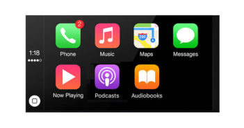 Modifier l'agencement des icônes sur CarPlay pour les voitures