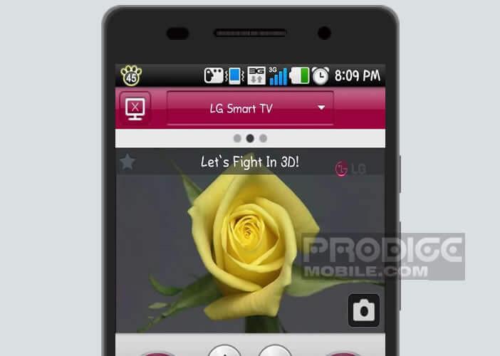Application LG TV Remote pour contrôler sa Smart TV depuis Android