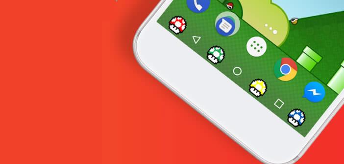 Personnaliser les boutons de la barre de navigation sous Android