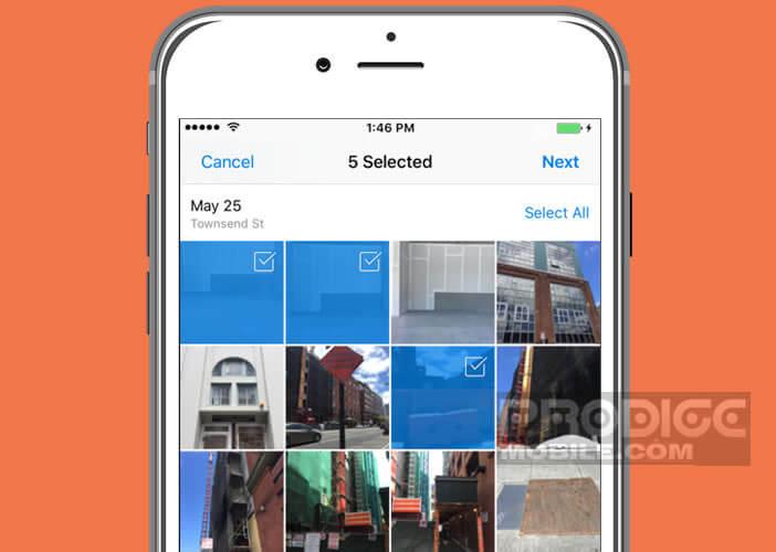 Transférer les photos de votre iPhone sur un compte Dropbox