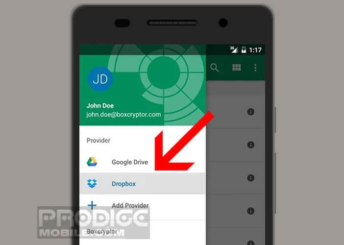Crypter les fichiers stockés dans le cloud depuis votre mobile Android
