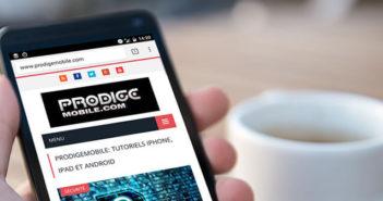 Changer la page de démarrage de Google Chrome pour Android