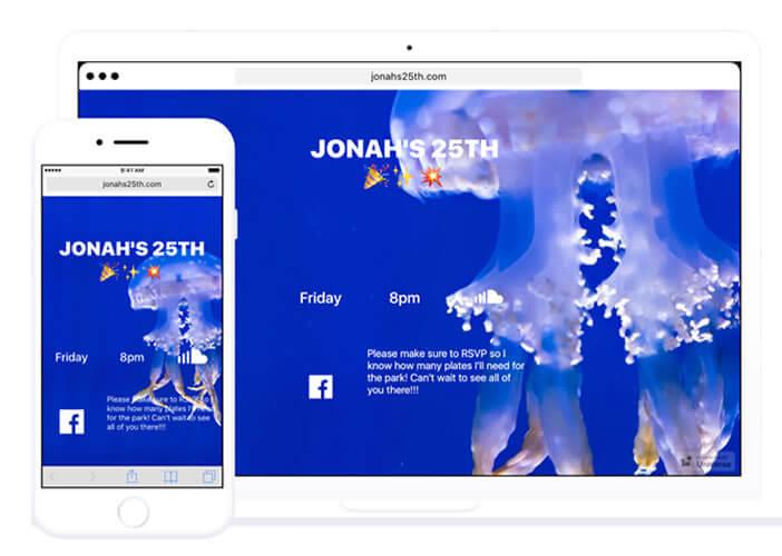 Les sites créés avec Universe s'adapte à la taille des écrans des internautes