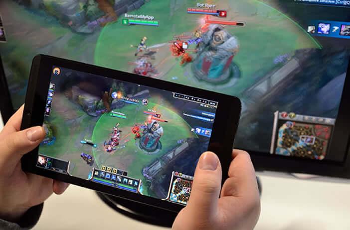 Faire du streaming de jeux d'ordinateurs sur un Android