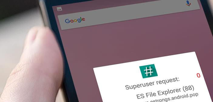 Enlever le root sur un smartphone Android