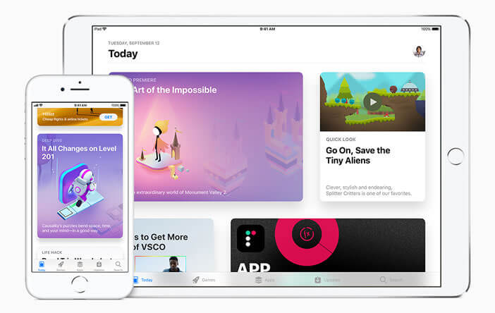 L'App Store dispose d'une nouvelle interface