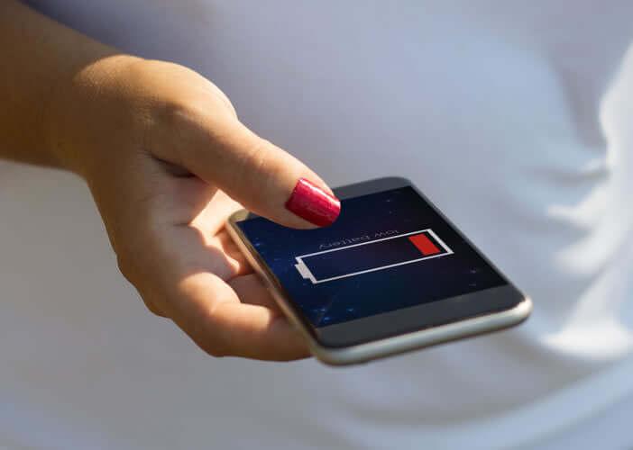 Batterie défaillante sur un téléphone d'occasion