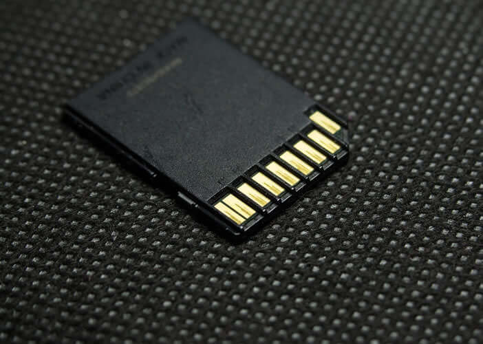 Choisissez la capacité de stockage de la carte mémoire en fonction de vos besoins