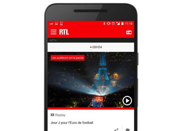 Retrouver les replays et le flux en direct de la radio généraliste RTL
