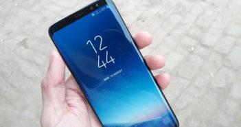 Activer le mode plein écran sur le Samsung Galaxy S8