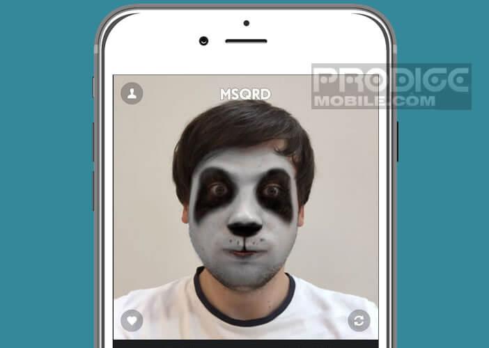 MSQRD est une application de réalité augmentée pour l'iPhone