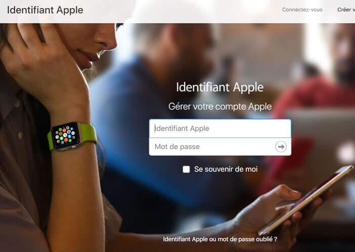 Utiliser le site Appleid en cas d'oubli de votre login ou de votre mot de passe Apple