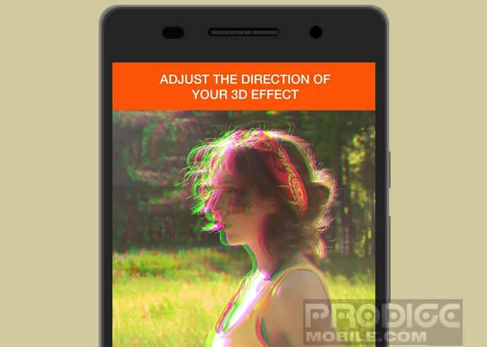 Donner du relief à vos photos avec l'application gratuite 3D Effect