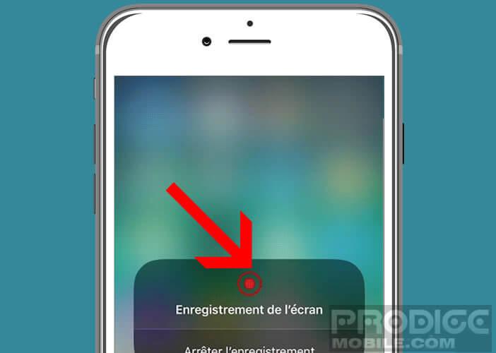 Lancer le système de capture vidéo sur les appareils mobile d'Apple