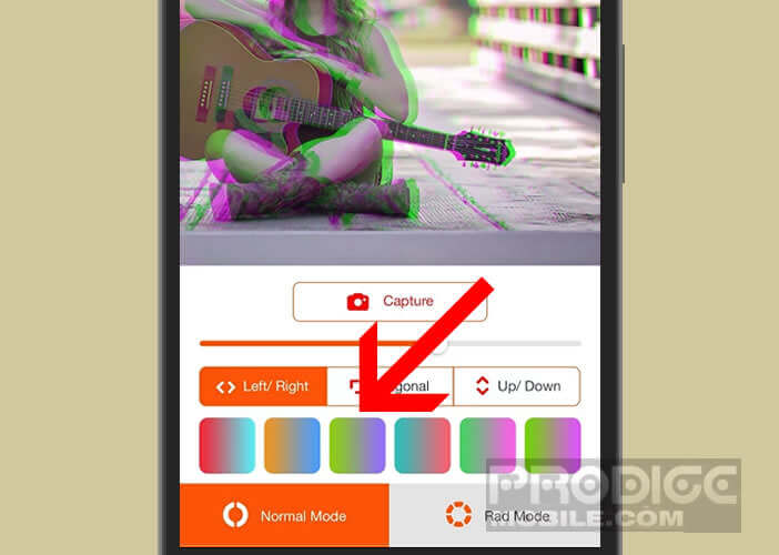 Sélectionnez votre combinaison de couleur préférée parmi le large choix de filtres