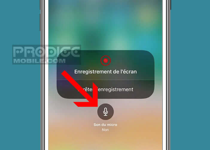 Conserver une capture du son de votre iPhone