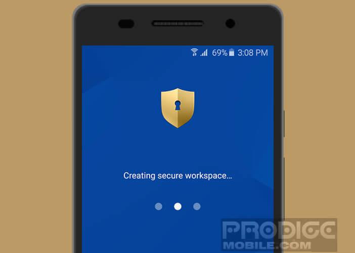 Créer un environnement sécurisé sur Android