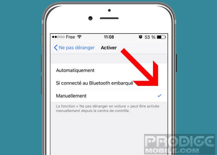 Votre iPhone détecte automatiquement votre présence dans une voiture