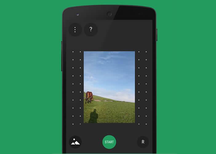Application pour créer des panoramas à 360 degrés