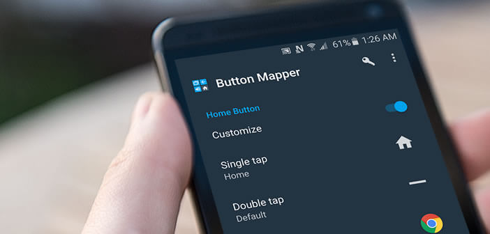 Modifier le comportement du bouton Home d'un mobile Android