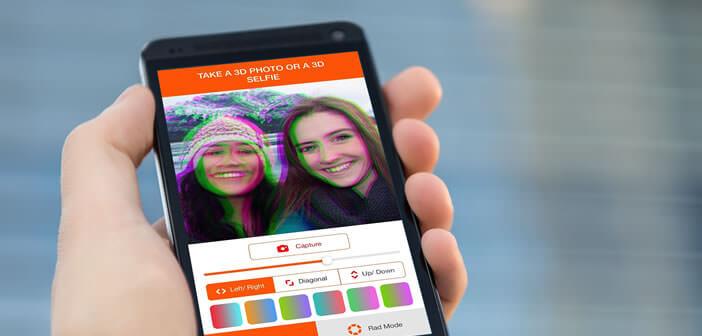 Se faire tirer le portrait en 3D grâce au selfie 3D