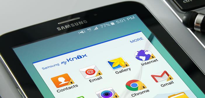 Gagner de la place en supprimant la solution de sécurité Samsung Knox