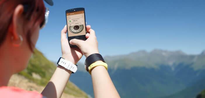 Afficher l'altitude de votre position sur votre mobile