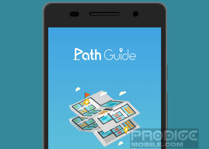 Path Guide l'application de GPS d'intérieur de Microsoft
