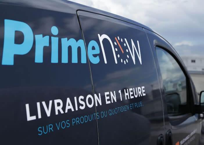 Bénéficier de la livraison ultra rapide en une heure d'Amazon